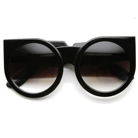 womens designer fashion bold cat eye