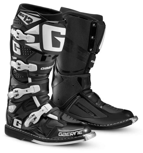 mens motocross boots 421 00 gaerne mens sg 12 mx motocross off road riding