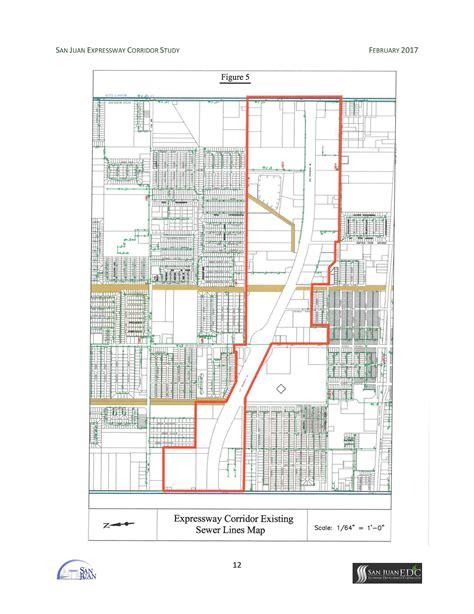 san jose sewer line map expressway corridor master plan project city of san juan