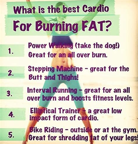best burning cardio ideas health fitness