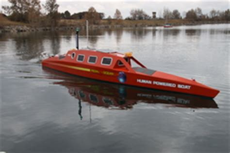pedal boat calgary adventurer sets sea trial for world record human powered