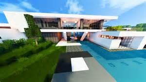 Modern Beach House green lantern s beach house modern beach house minecraft maps