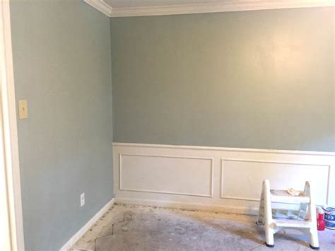 sherwin williams silvermist projects out the ears the dining room conversion