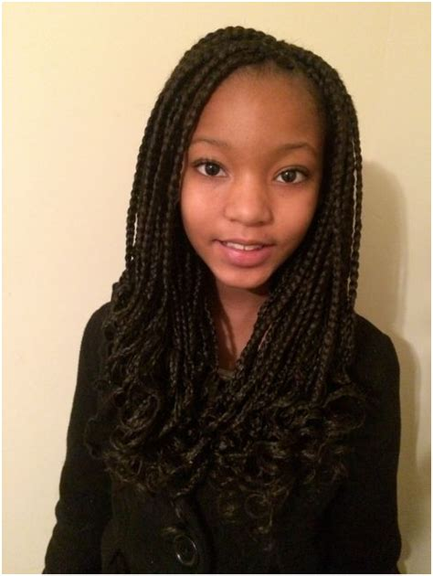 long box braids hairstyles 40 pretty fun and funky braids hairstyles for kids
