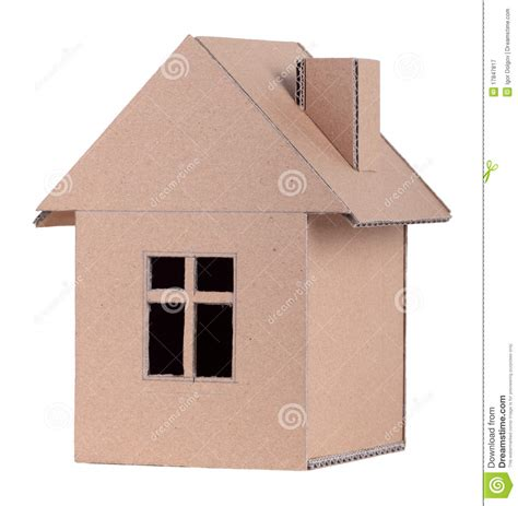House Plans With Open Concept paper house royalty free stock photography image 17847817