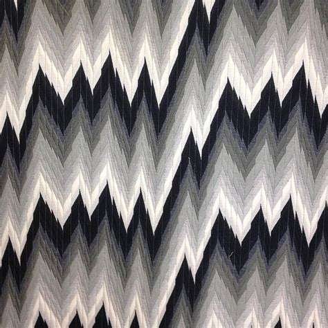 Missoni Upholstery Fabric by Black Chevron Designer Upholstery Fabric Missoni 1