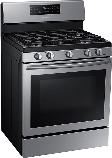 Samsung Range by Samsung Free Standing Gas Range Stainless Steel The Brick