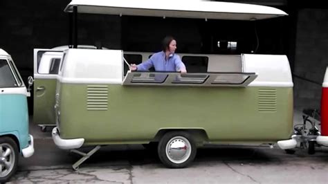Dub Box   'Tuck Box' Food Retailing Trailer with rising roof   YouTube