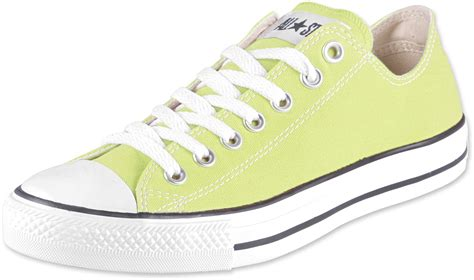 light yellow converse shoes converse all star ox shoes yellow
