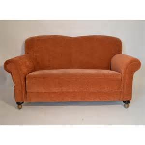 Sofas On Credit Small Victorian Drop Arm Sofa C1890 The Original Chair