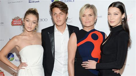 gigi hadid posts throwback snap of mother yolanda foster gigi hadid and bella hadid post throwback instagrams for