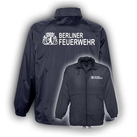 Berliner Feuerwehr Aufkleber by Windbreaker Bf Navy Hauptstadtfeuerwehr
