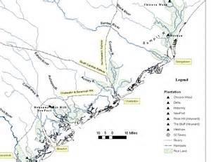 carolina lands map static maps
