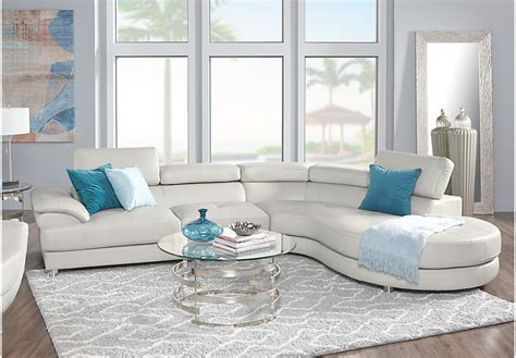 Rooms To Go Living Room Set Sofia Vergara Cassinella 5 Pc Sectional Living Room Living Room Sets Beige