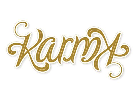tattoo fonts karma karma ambigram karma and tattoos