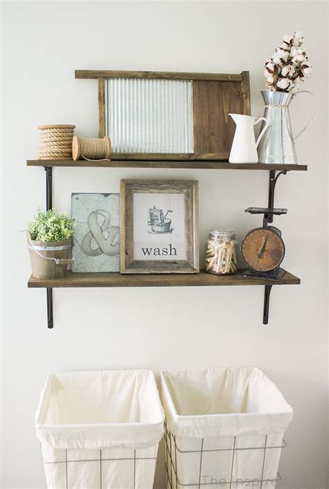 room shelving ideas rustic industrial laundry room reveal shelving ideas laundry her and rustic industrial