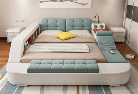 bed for the ultimate bed with integrated chair speakers