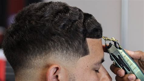 mens tidal wave hair cut how to cut mens hair low fade waves on top straight