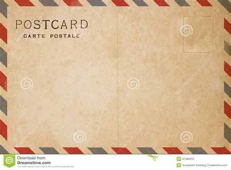 airmail postcard template airmail postcard stock photo image 47380023