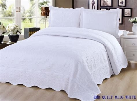what size pillow for sham 3 pc embroidered quilt bedding bedspread pillow sham