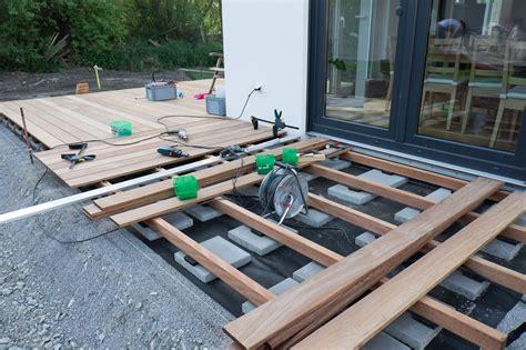 len für die terrasse bankirai terrasse bauen einen bankirai pflanzk 195 188 bel