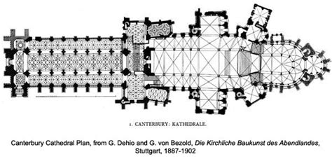 canterbury cathedral floor plan canterbury cathedral