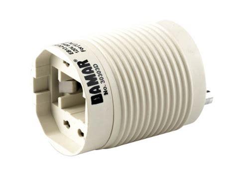 self ballasted l adapter self ballasted gu24 adapter for 13 watt plug in cfl gu24