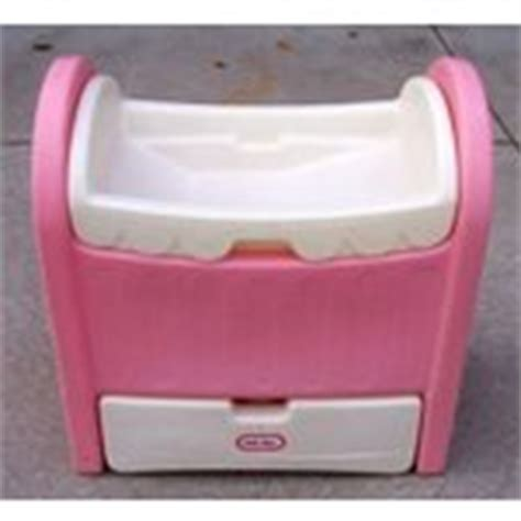 Rare Little Tikes Tykes Doll Crib Changing Bath Tabl 07 Tikes Changing Table