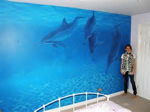 Dolphin Wall Mural pics photos dolphin wall decals dolphin wall murals