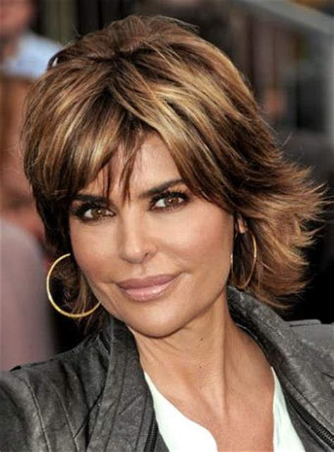 razir shag cut female lisa rinna short shag haircuts