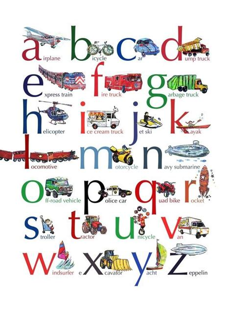 printable welsh alphabet flash cards alphabet kids chart transportation google search to do