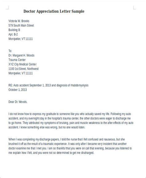 appreciation letter samples ms word