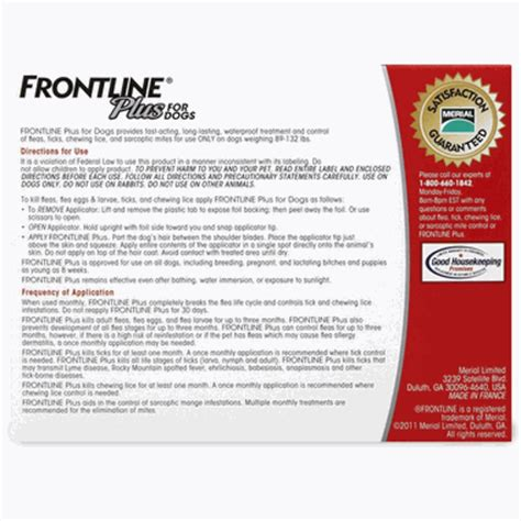 frontline plus for dogs 89 132 lbs frontline plus for dogs 89 132 lbs 3 month