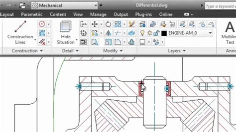 tutorial autocad mechanical 2012 dimensions autocad mechanical 2013 youtube