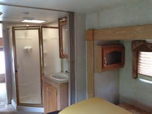before rv renovation shower sink rv remodel ideas