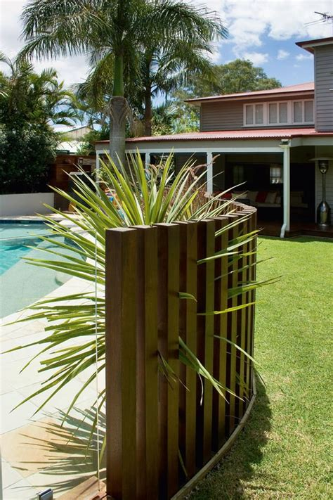 stylish  practical pool fence designs digsdigs