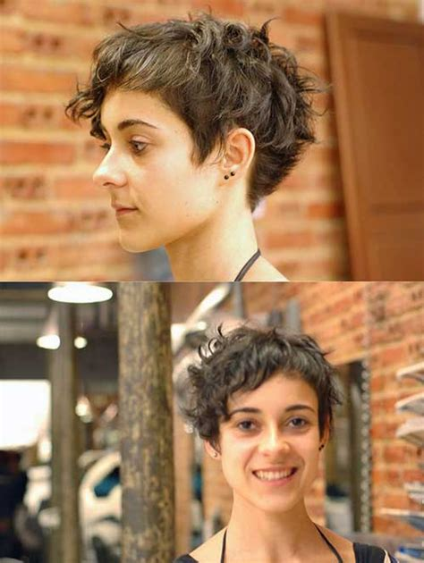 pixie haircut curly hair photos 15 pixie cut for curly hair short hairstyles 2017 2018
