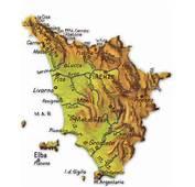 Home Italia Toscana Cartina Geografica Della