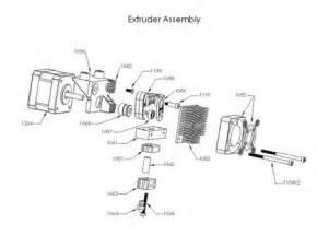 makerbot replicator extruder diagram makerbot 2 remove extruder elsavadorla