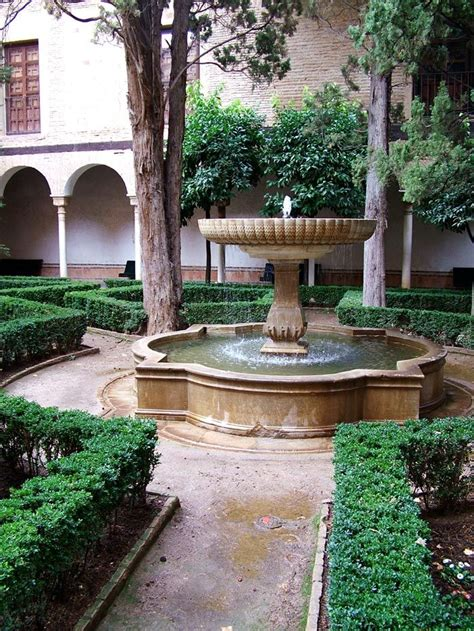 spanish courtyard designs 17 best images about madrid barcelona and the gardens of