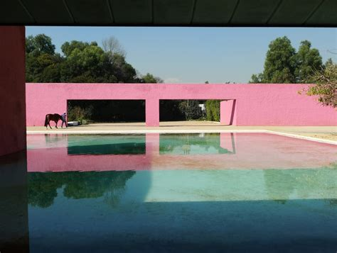 luis barragan house luis barragan house and studio mexico city afar