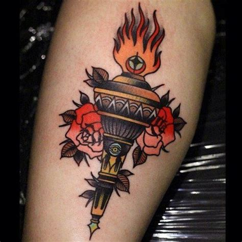 tattoo meaning torch 17 best images about torch trad on pinterest traditional