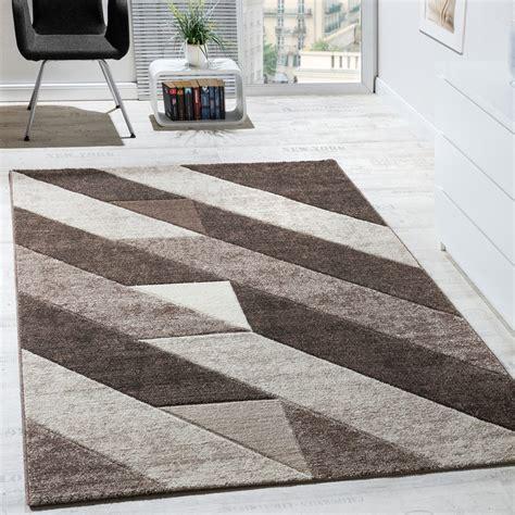 teppich dreiecke designer teppich hochwertig diagonal streifen dreieck 3d