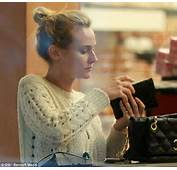 Diane Kruger Is A Natural Beauty As She Goes Shopping