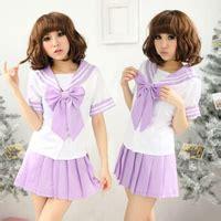 Mini Dress Office Dress Purple Import Korea 100 White Real Pict japanese kawaii school sailor suit 183 fashion kawaii japan korea 183 store