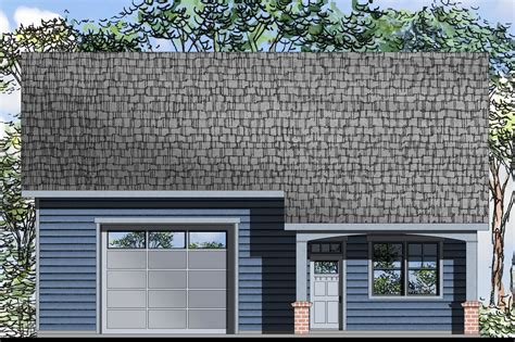 Garage Plans With Living Space by New Garage Plan Offers Living Space Associated Designs