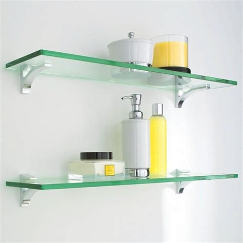 glass wall shelves for bathroom glass shelves modern display and wall shelves dc