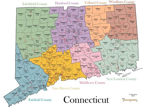 printable connecticut road map how to pronounce connecticut town names you re history