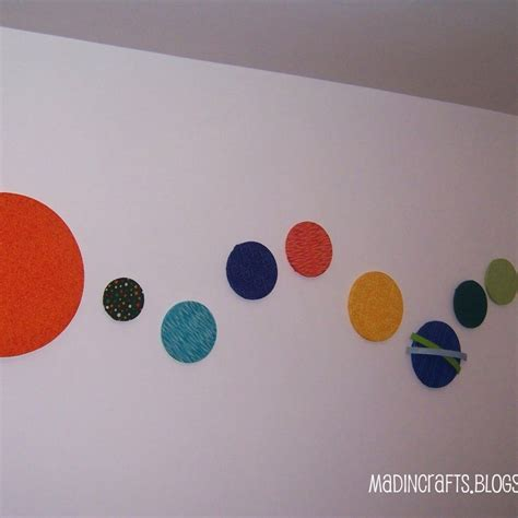 solar system arts and crafts for easy solar system crafts for