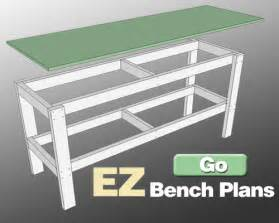 garage workbench plans additionally build also floor plan reuse and recycle pinterest workbenches